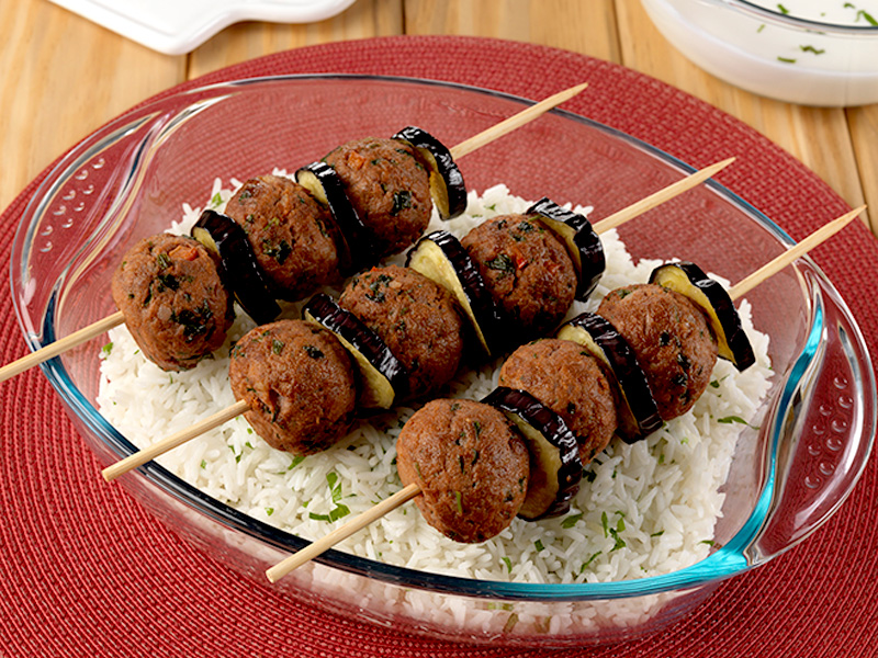 Kofta Orfali With White Rice | Pyrex recipes - Brands Kitchen food  marketing agency
